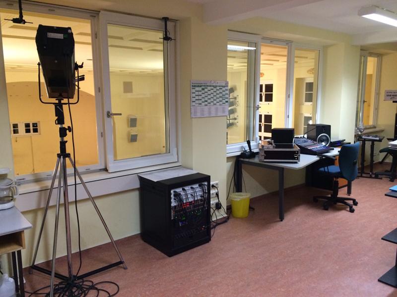Regieraum für Licht-, und Tontechnik, Foto: JBO