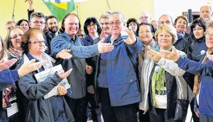 Brasilianischer Chor aus Teutônia auf Blitzbesuch