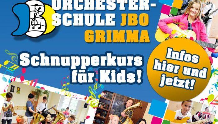 Jugendblasorchester Grimma sucht Mitstreiter