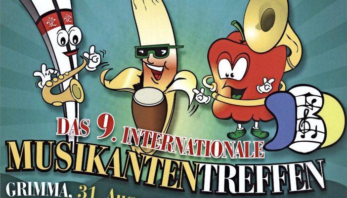 Für das 9. Musikantentreffen in Grimma wird kräftig die Werbetrommel geschlagen. 22 Top-Formationen aus neun Ländern treffen sich an der Mulde und werden Musik machen.