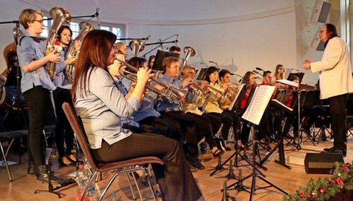 Mit einem abwechslungsreichen und beschwingten Potpourri an Melodien wartete das Jugendblasorchester Grimma beim Neujahrskonzert 2020 im Soziokulturellen Zentrum auf.