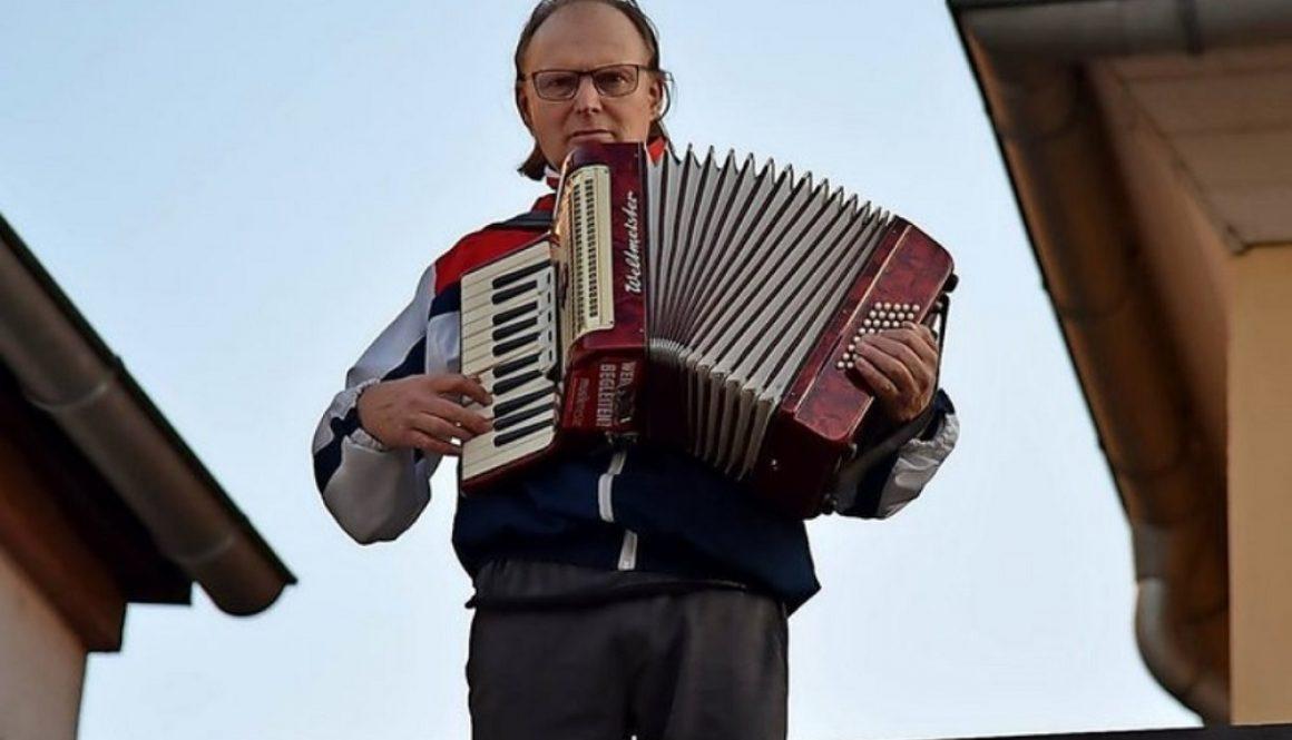 "Geste des Danks: Musiker im Kreis Leipzig spielen ""Ode an die Freude"" Foto: FSW"