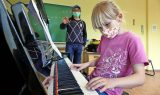 Jugendblasorchester führt erste Probe durch Foto: Kube