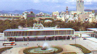 "das ""Peace Memorial Museum"" (das Leiden hautnah)"