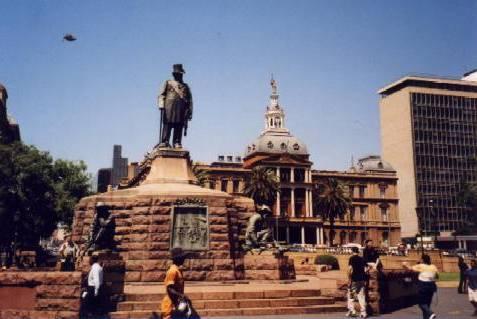 Pretoria: historischer Stadtkern